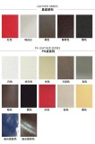 Furniture surface material of PU/LEATHER