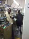 Our machine in customers workshop