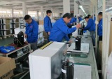 production line for solar air conditioner