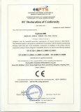 EC declaration of conformity of Cyclone Mill