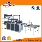 button sealing bag making machine