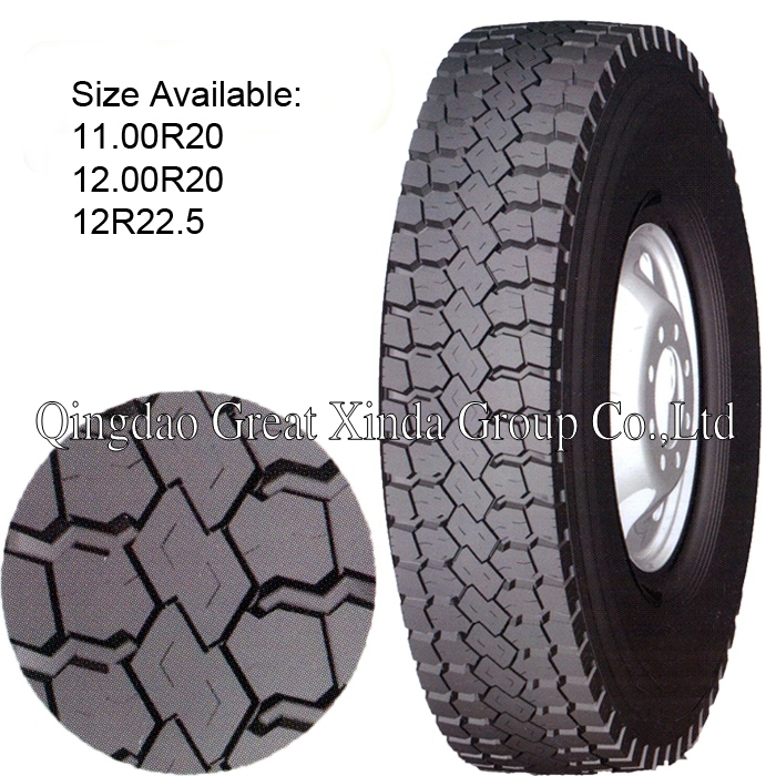 Truck Tyre Pattern No. ST966