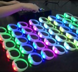 Remote controlled LED bracelets Creat your own custom light show