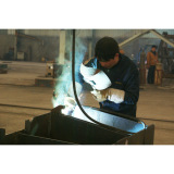 Welding for the conveyor steel frame structure