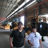 Customers Visiting-Wheel Loaders (Pakistan)