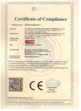 CE Certificate of tunnel oven