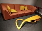 Fiberglass Sofa And Coffee Table In Showroom