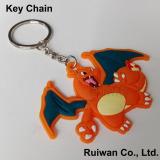 Silicone key chain customized