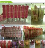 Xinyimei Furniture factory workshop stacking chairs