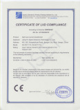 CEcertificate of XH-SCT-T10/T16