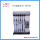 Abrupt pull test machine