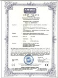 CE CERTIFICATE OF ELECTRIC POTENTIAL THERAPY DEVICE