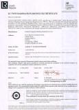 EC TYPE EXAMINATION (MODULE B) CERTIFICATE