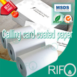 Synthetic BOPP for label calling card