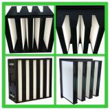 Compact V bank air filter
