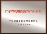 Guangdong Strategic Rising Enterprise Award