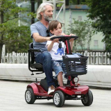 hot sale electric scooter with two seat for kids and adult