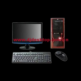 Hot sale full new heavy discount 15 inch monitor desktop computer