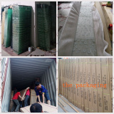 packing the shippment of the shower room