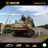 Sinoway Crawler Excavator in South America