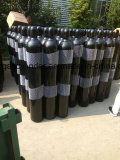 ISO9809-3 40L high pressure seamless steel gas cylinder