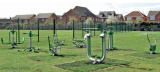 Outdoor Fitness Installed--Aoyu Series