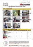 Metal part Testing report