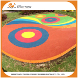 Playground flooring made with EPDM crumbs