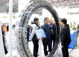 Tongli slewing bearing at 2016 Shanghai Bauma construction machinery exhibition