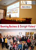 Booming Business & Outright Victory!