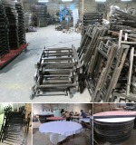 Xinyimei Furniture Factory workshop, tables