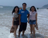 Beach in shenzhen