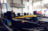 Flame Cutting in Dongfang Workshop