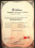 BV Supplier Assessment certificate2