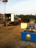 ZCJK block making machine to Africa