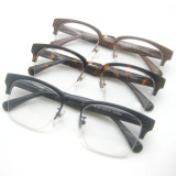 Top Quality Acetate Optical Frame with Aluminum Temples