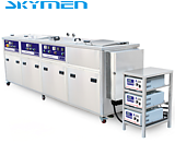 Multi ultrasonic cleaner with lift ,filter for industrial use