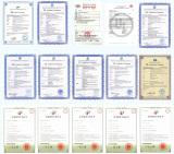 R&D certificate for Wisdom cap lamp