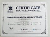 Certificated of High quality Manufacturer