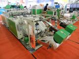 Chinaplas 2014 -Automatic T-shirt bag making machine
