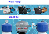 Swimming Pool Sand Filter and Water Pump are Sales Promotion in September.