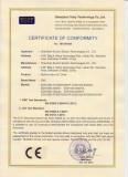 EDS 2000 CE certificate