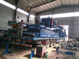 Loading the roll forming machine to Australian