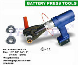 Battery Powered Press Tool For Multlayer Pipe