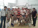 King Machine Engineer and customer in Peru