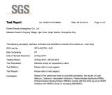 RoHS report of Christmas Tree Stand by SGS