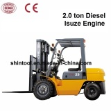 2 Ton Prices for Forklifts with Diesel Isuzu Engine (CPCD20)