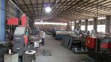first floor of factory, cutting and welding department