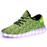 Slip-on LED Light Up Shoes Fashion Sneaker with 11 Color Modes