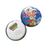 Round Type Bottle Opener Fridge Magnet for Promotion Gift